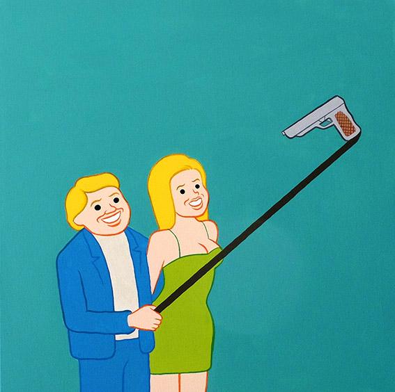 Selfiestick by Joan Cornella