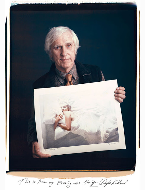 Douglas Kirkland: This is from my Evening with Marilyn