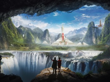Hollow Earth Cities