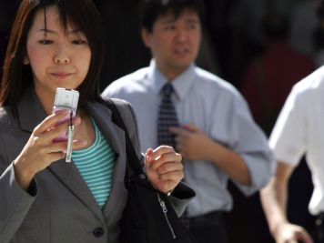 businesswoman-in-japan
