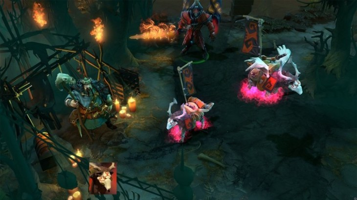 Ethereal Flames Pink WarDog in Dota 2