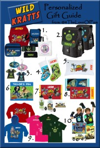 .@4TheLoveOfFam @WildKrattsOffic Wild Kratts Complete Holiday Personalized Gift Guide #WildKratts #KrattBrothers #HolidayGiftGuide #ActivateCreaturePower
