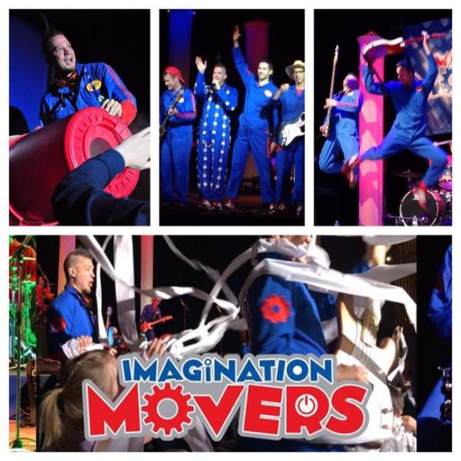Disney's Imagination Movers Are Stopping In Cincinnati To Party With YOU!