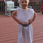 Quick Pillow Case Princess Leia Costume For Toddlers