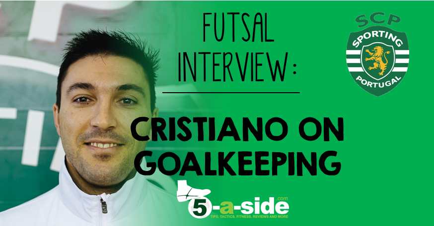 Cristiano Futsal Goalkeeping Interview Header