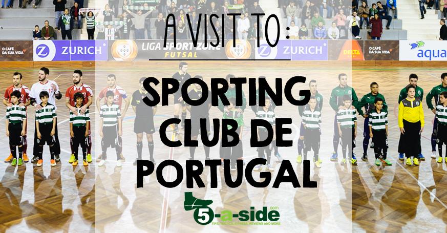 Visit to Sporting Club de Portugal Futsal Header
