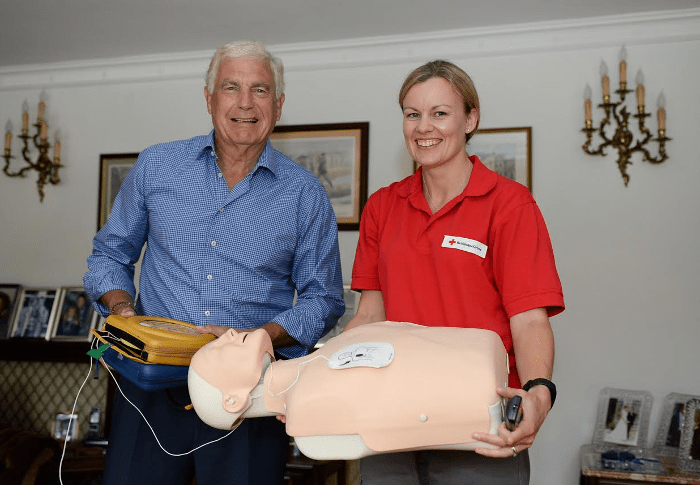 Trevor Brooking First Aid British Red Cross
