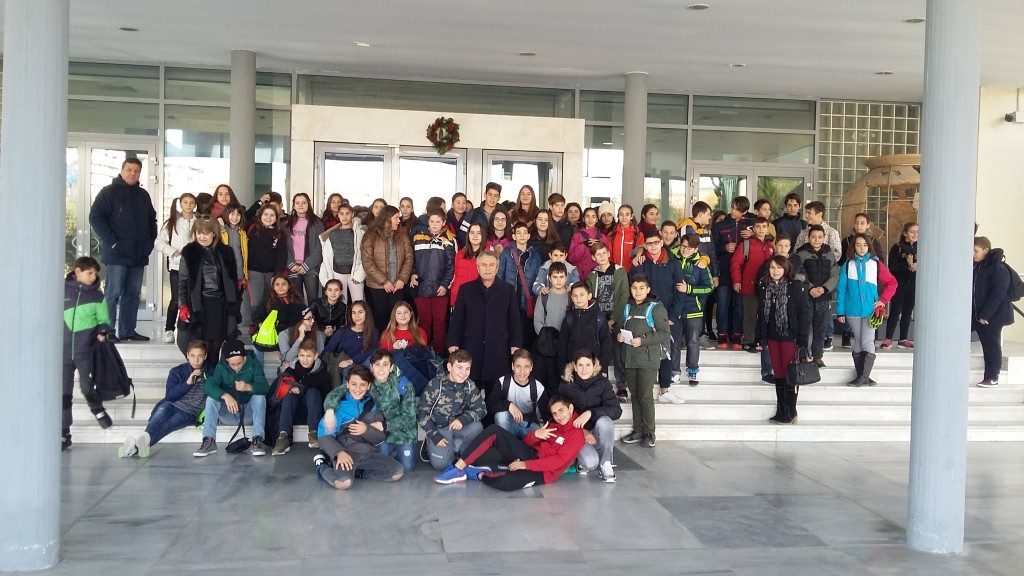 Επίσκεψη στο Αρχαιολογικό μουσείο της Θεσσαλονίκης.