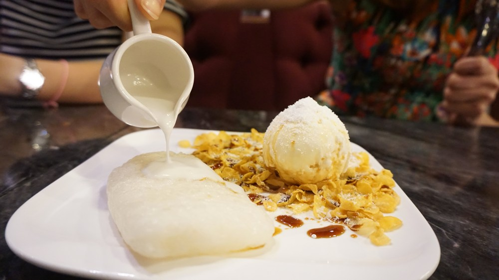 Sticky Rice and Coconut ice cream