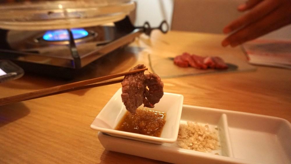 A4 Wagyu beef slice