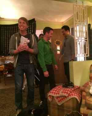 Jack McBrayer - On the set of The Middle - #ABCTVEvent