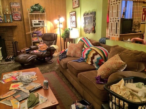 The Middle Set - Living Room - #ABCTVEvent