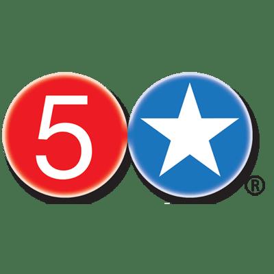 Five Star Burgers Logo - Albuquerque, Santa Fe, Taos, NM & Clayton and Kirkwood MO