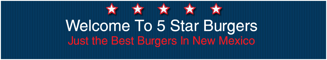 Welcome to Five Star Burgers