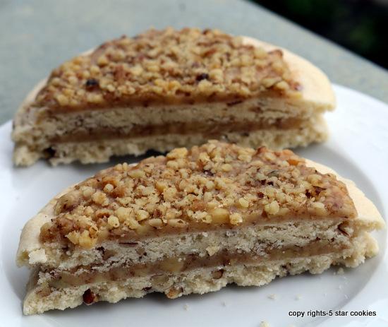 5starcookies baklava cookies in the front