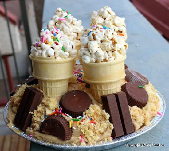 5starcookies birthday cake