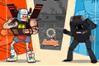 [レトロでチープな巨大ロボット風キャラで戦う格闘アクションゲーム]Battle of the Behemeths
