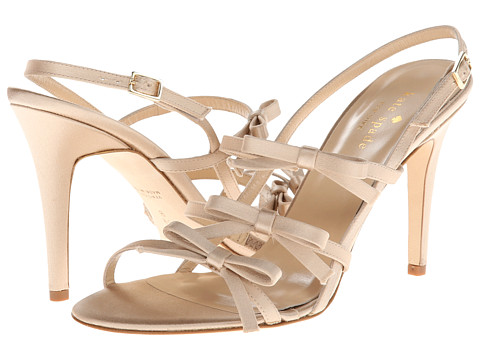 Kate Spade New York - Sally (Champagne Satin) High Heels