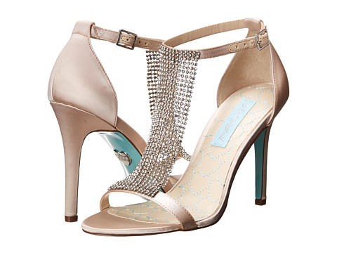 Blue by Betsey Johnson - Mesh (Champagne Satin) High Heels