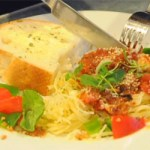 Eggplant Parmesan & Angel Hair Pasta – $10 or Less Meal