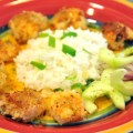 Coconut-Pretzel Crusted Shrimp with Orange Marmalade Horseradish Sauce & Tropical Rice – $10 or Less Meal For 4