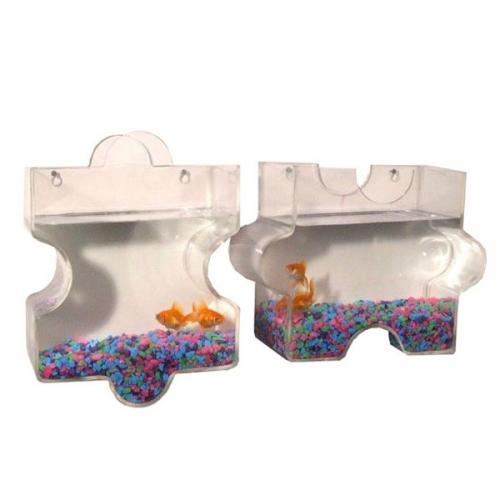Puzzle Wall Mount Fish Bowls