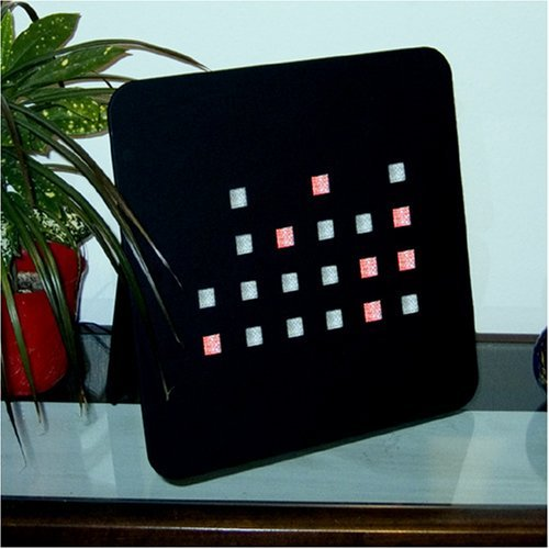 Large Binary Clock Red LED