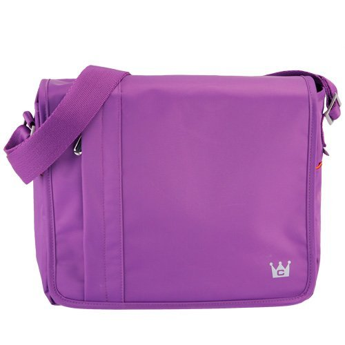 Mobile Messenger Bag (Purple) for iPad 4th