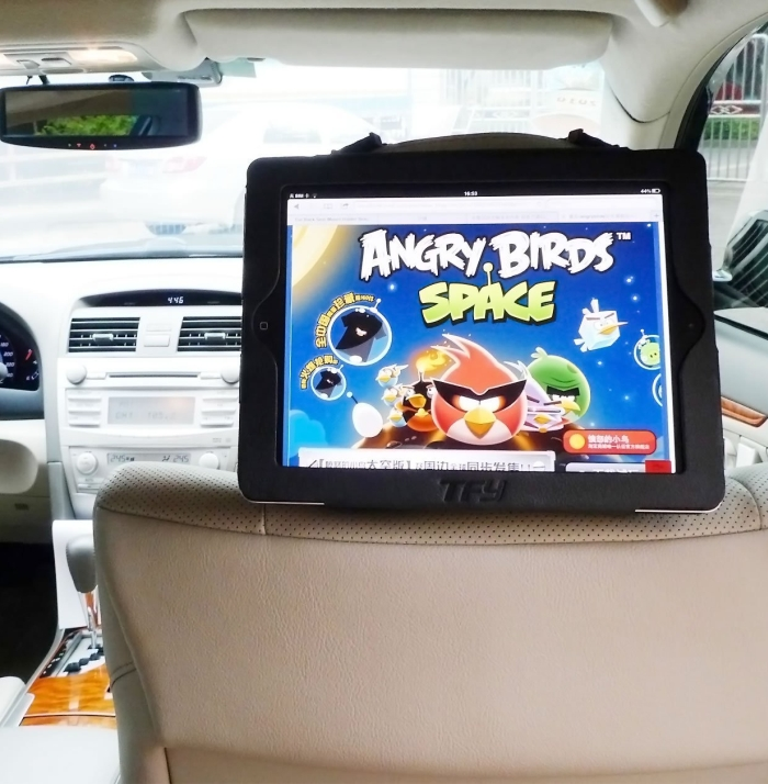 iPad 3 / iPad 2 Car Headrest Mount Holder