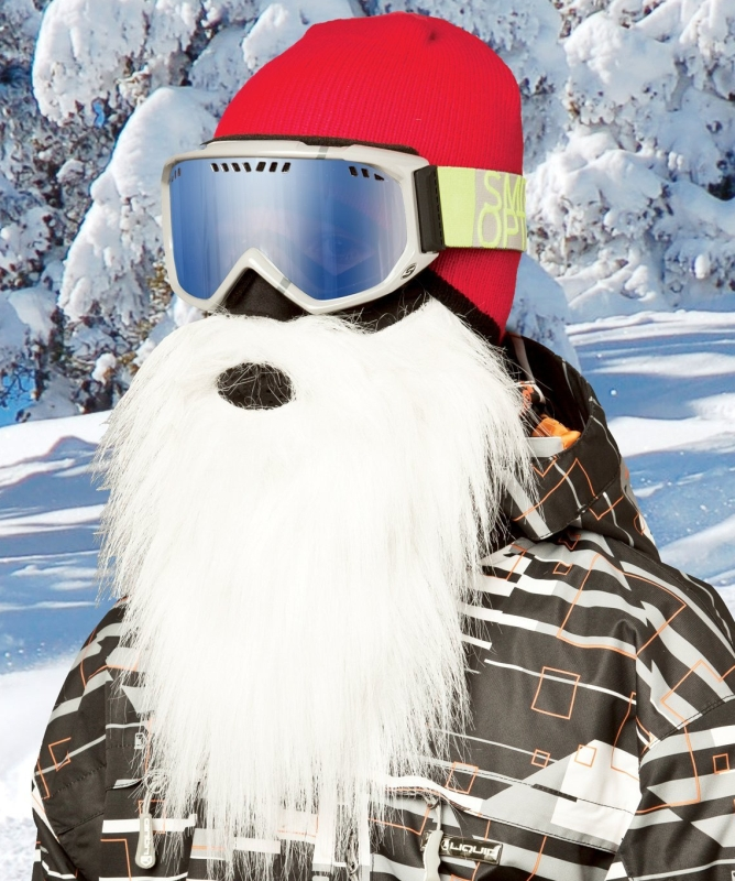 Amazon.com  Beardski Men's Santa White Mask - PT02