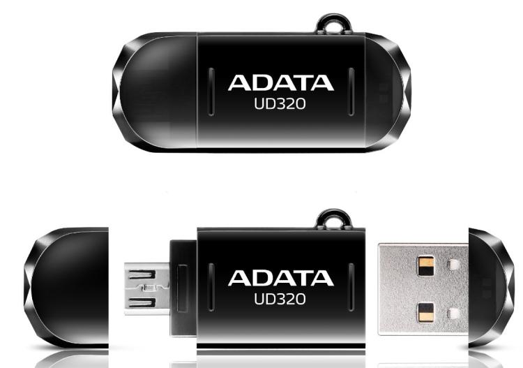 DashDrive Durable UD320 USB Flash Drive