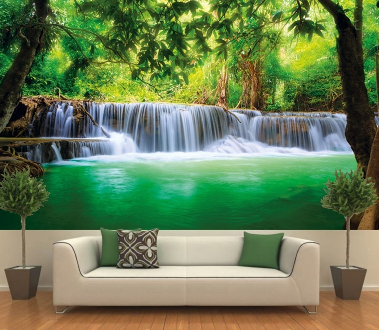 Paradise photo wall paper for Decor mural xxl