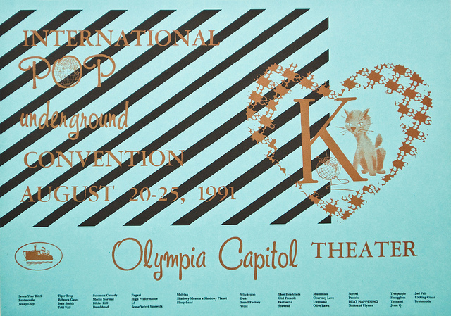 International Pop Underground Festival/Olympia/August 20–25, 1991