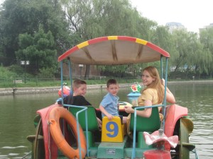 Truth be told, pedal boats are really, really fun.