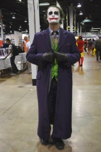 Number 8 - The Joker (this guy never broke character and even tried to creep on me as I walked away. Love it.)