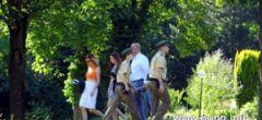 Polizei auf den Grünen Hügel in Bayreuth