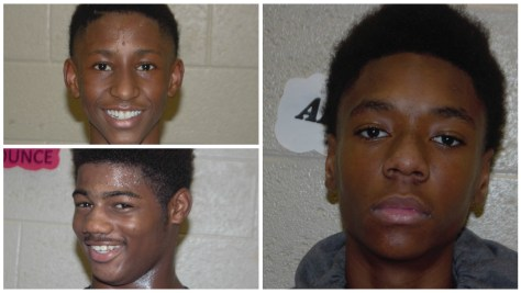 Left To Right ( Amauri Abner, Durias Dyer, Aldon Applewhite