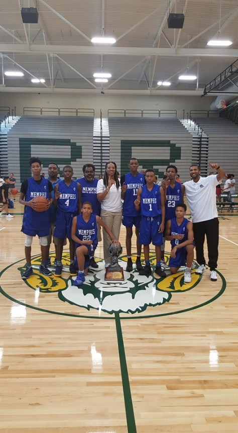 Memphis Wildcats Win Big Foot Classic (13U)
