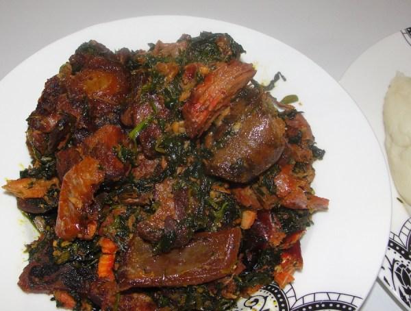 Edikang Ikong - Nigeria - Traditional - Soup - 9jafoodie - recipe
