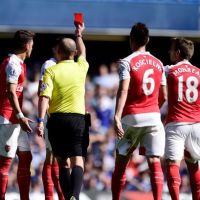 He gave red card to Arsenal player, FA say was mistake!