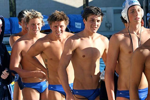 Blue Speedo Boys