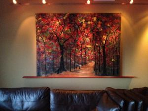 Giclee shown in the Diehl residence in their College Park home