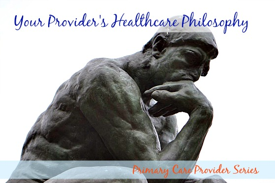 What is your provider's healthcare philosophy