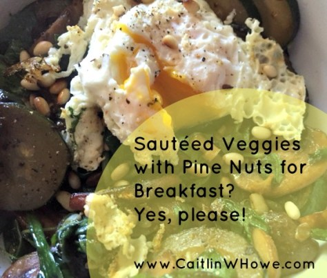 Alternative Breakfast Veggies