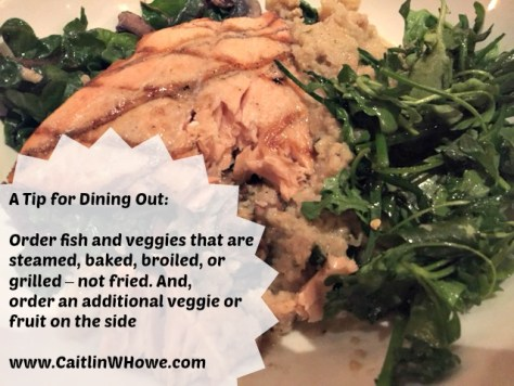 Tip for Healthy Dining Out