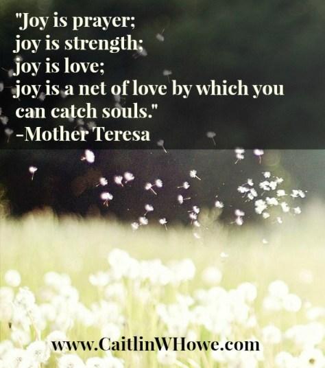 Joy Quote Mother Teresa