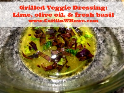 Grilled Veggies Dressing