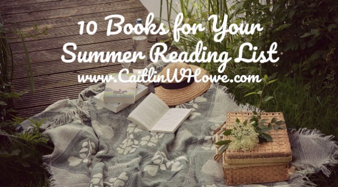10 books for your summer reading list
