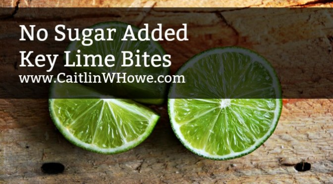 No Sugar Added Key Lime Bites