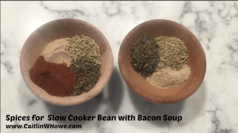 Spices for Bean with Bacon Soup